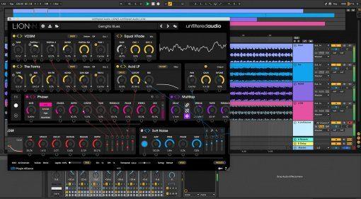 Unfiltered Audio Lion - der König der Synthesizer ist endlich verfügbar!
