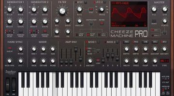 2getheraudio Cheeze Machine Pro: das neue No-brainer Moog Plug-in