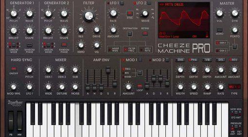 2getheraudio Cheeze Machine Pro: das neue No-brainer Moog Plug-in