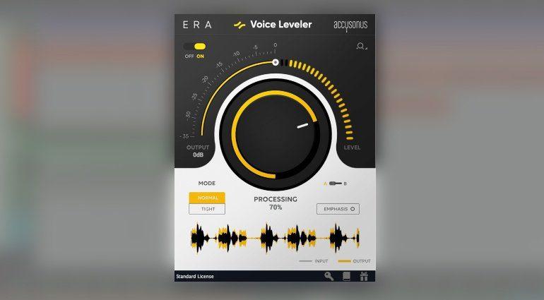 Accusonus ERA Voice Leveler