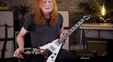 Dave Mustaine Megadeth V Guitar