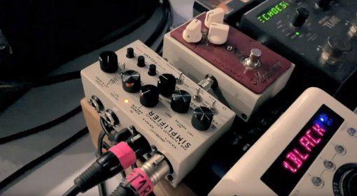 DSM Humboldt Simplifier amp di box pedalboard