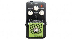 EBS OctaBass Blue Label Effekt Pedal