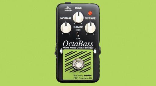 EBS OctaBass Blue Label Effekt Pedal Teaser