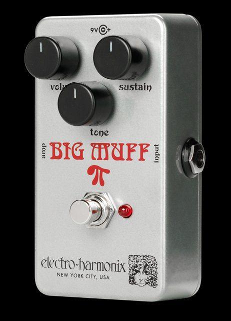 EHX rams head big muff pi nano reissue