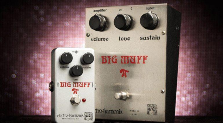 Electro Harmonix Ram's Head Big Muff Pi 73 reissue