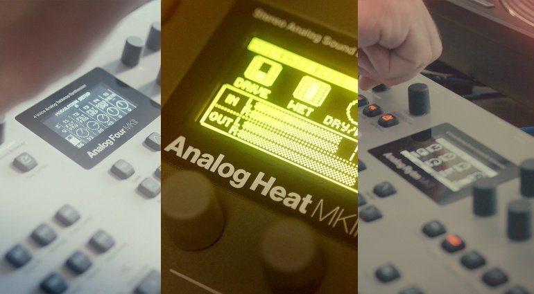 Elektron OS Upgrades für Analog Four, Analog Rytm und Analog Heat