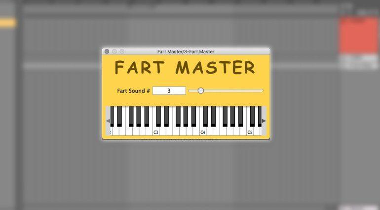 Fart Master furzt euch jede Melodie chromatisch!