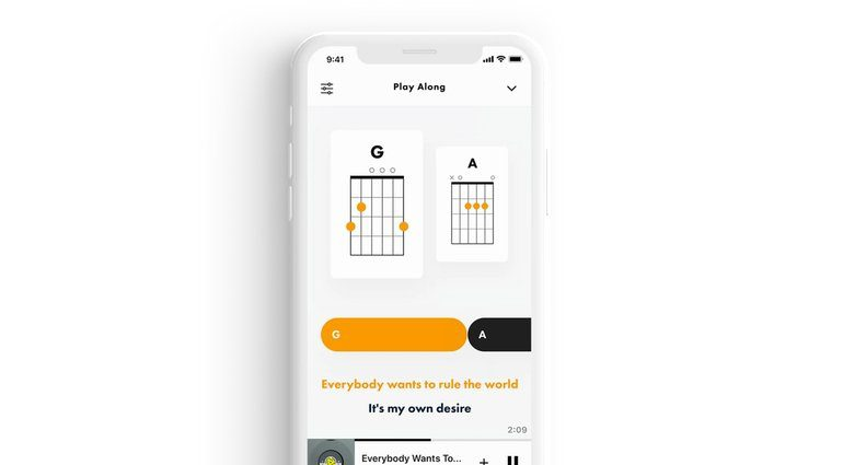 Fender Songs App iOS Practice Tabs