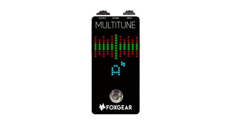 FoxGear Multitune Tuner Pedal Front