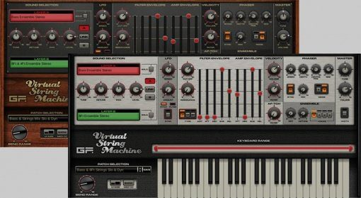 GForce Virtual String Machine V3 - jetzt auch in stereo!