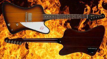 Gibson Firebird Rechte Trademark Front Back Fire
