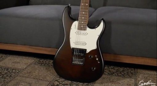 Godin Guitars Session HT Bourbon Burst