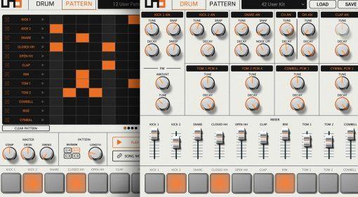 IK Multimedia veröffentlicht kostenlosen UNO Drum Editor