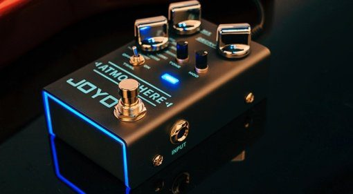 Joyo Atmosphere R-14 Effekt Pedal Reverb Digital 1
