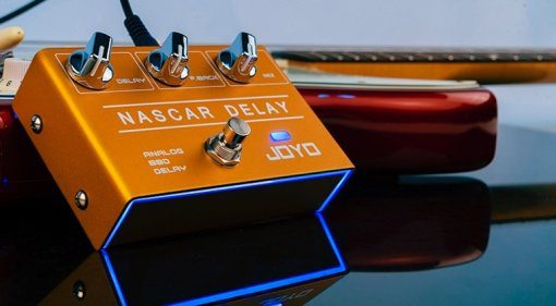 Joyo Nascar Delay Effekt Pedal Analog