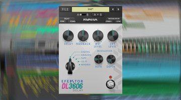 Kuassa veröffentlicht Efektor DL3606 Delay