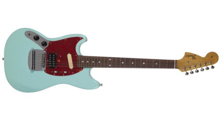 Kurt Cobain Fender Mustang Skystang III Front