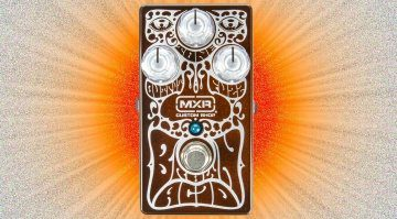 MXR Brown Acid Fuzz Pedal Front