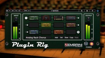 Nembrini Audio Plugin Rig - ein Interface für alle Plug-in-Effekte