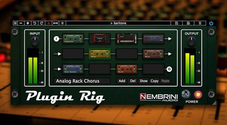 Nembrini Audio Plugin Rig - ein Interface für alle Plug-in-Effekte