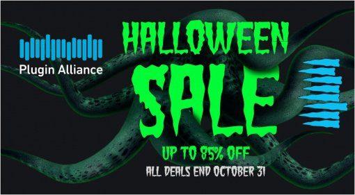 Deal: Plugin Alliance Halloween Deal mit vielen Angeboten