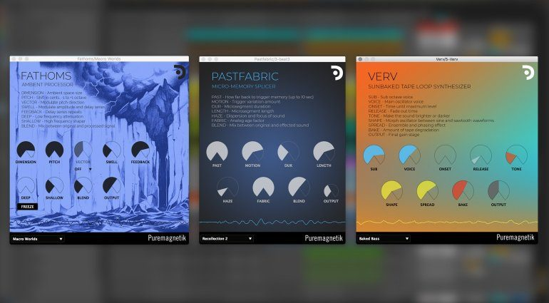 Puremagnetik Lo-fi Ambient Tools jetzt gratis beim Novation Sound Collective