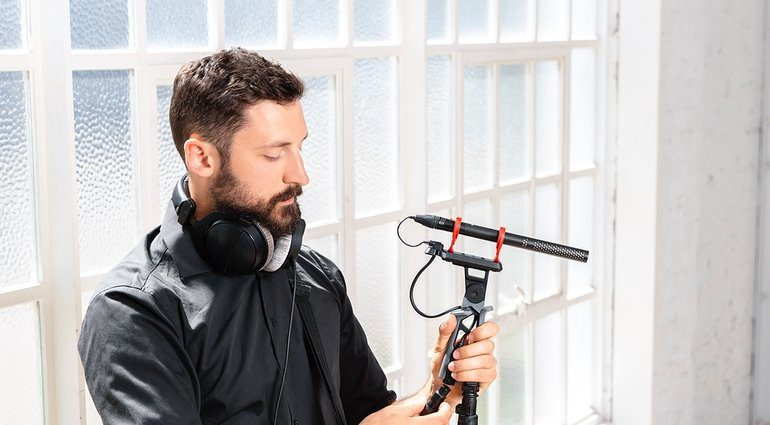Rode NTG5 Hipster Boom Operator