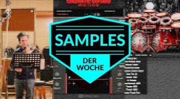 Samples der Woche: Cinematic Guitars Motion, Solo Violin, KVLT Drums II