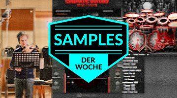 Samples der Woche: Cinematic Guitars Motion, Solo Violin, KVLT Drums II