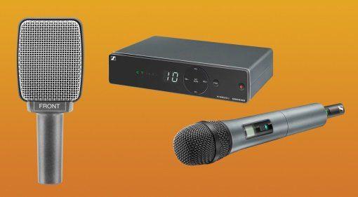 Mikrofone von Sennheiser im Angebot