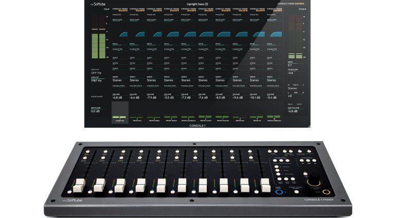Softube präsentiert den motorisierten Controller: Console 1 Fader