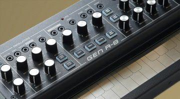 """Stylophone Dubreq Gen R8 – Semimodular """"aufgemotzt"""" & lieferbar"""