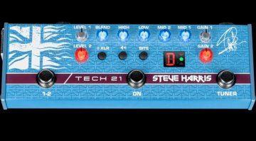 Tech 21 Steve Harris SH1 Sansamp Front