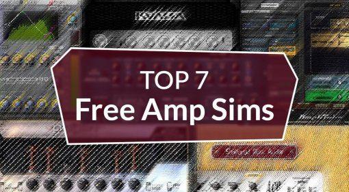 Top 7 Freeware Amp Simulationen: die besten kostenlosen virtuellen Gitarren-Amps