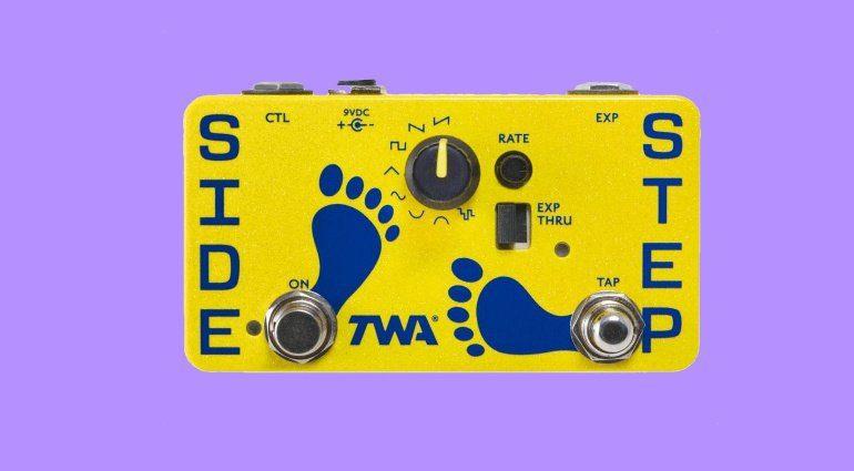 TWA Side STep Effekt Pedal FX LFO Front