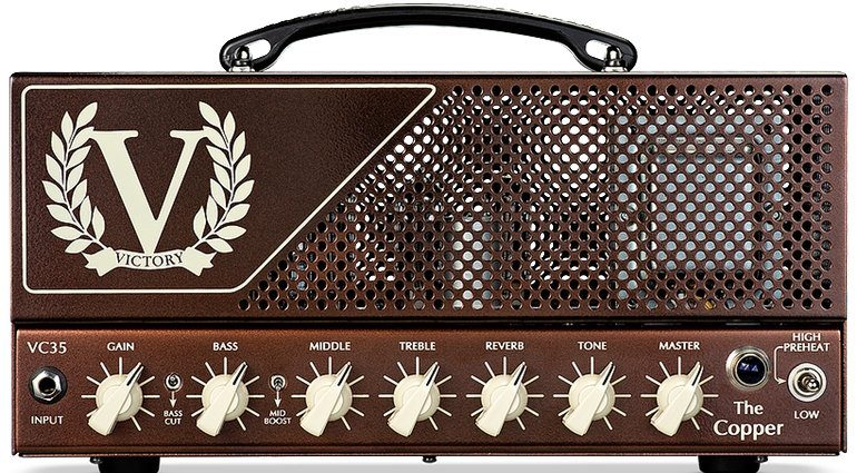 Victory The Copper Amp Topteil Vollroehre Front