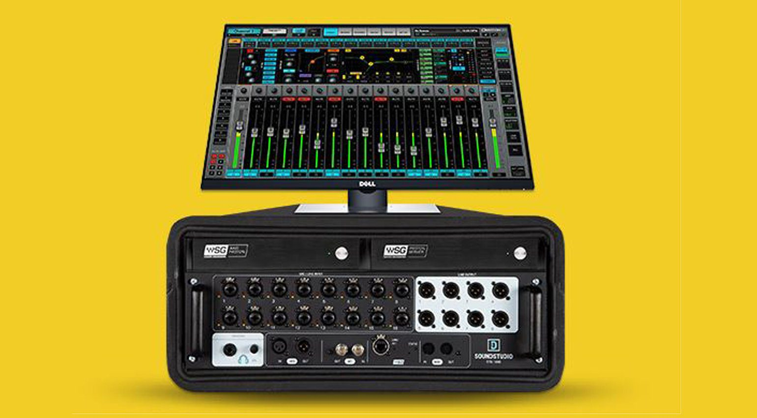 Neues 16-Kanal Live-Mixing-System von Waves: eMotion LV1 Proton
