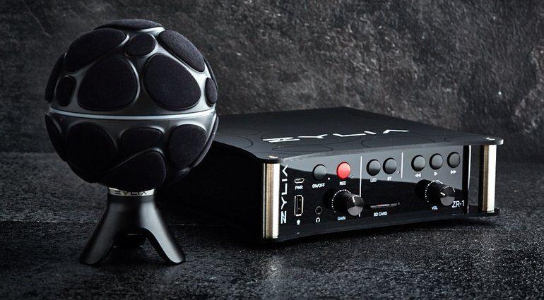 Zylia ZR-1 3D Ambisonics Surround Recorder ZM-1 Mikrofon