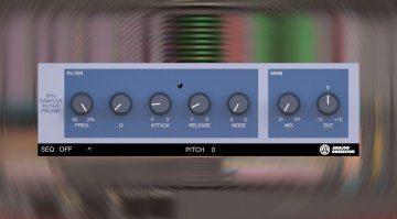 Analog Obsession SPre: kostenloser Preamp und Filter des SP1200 Samplers!