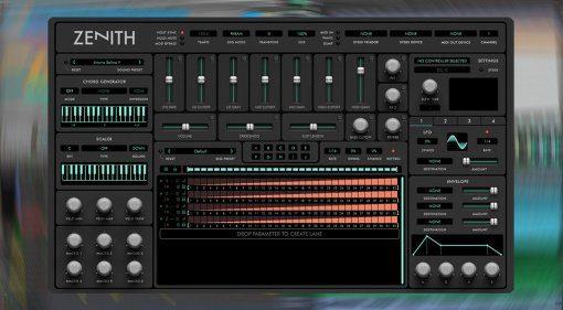 Audiaire Zenith: umfangreiches MIDI-Effekt-Plug-in für Hard- und Software