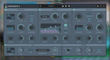 AudioThing Frostbite 2: spektrales Freezing in einem Plug-in