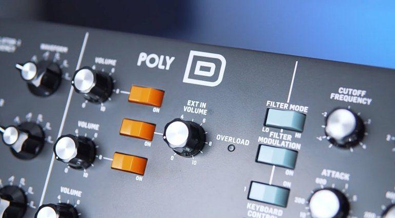 Behringer Poly D - ein vierstimmiger Minimoog Model D!