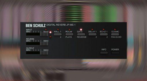 Ben/Schulz JP-ME-1: kostenlose Digital-Reverb Emulation aus den Achtzigern