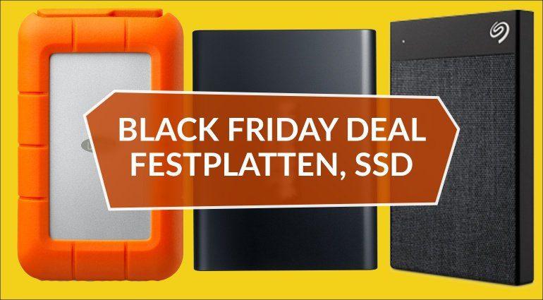 Black Friday Deal: Externe Festplatten für Studios und Live Performer