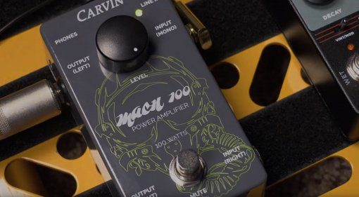 Carvin Audio Mach100 Pedal Endstufe Front