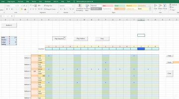 Eine Drum Machine mit Sequencer in Microsoft Excel? Na klar!