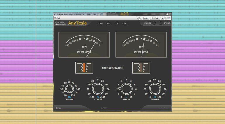 Sknote AnyTesla: Audio-Transformer-Modelling in einem Plug-in