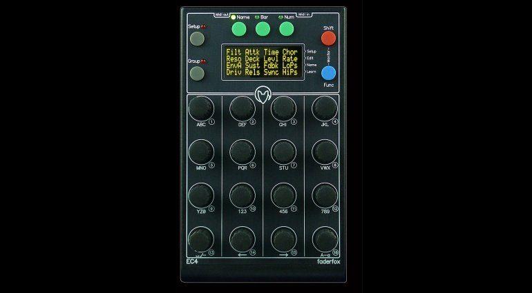 Faderfox EC4 Micromodul MIDI Rotary-Controller