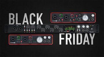 Deal: Focusrite reduziert die Preise für Audiointerfaces zum Black Friday